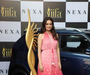 Actress Dia Mirza at 21st edition of NEXA IIFA weekend awards 2020