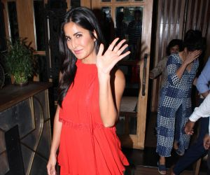 Katrina Kaif shoots for Arbaaz Khan's show in juhu