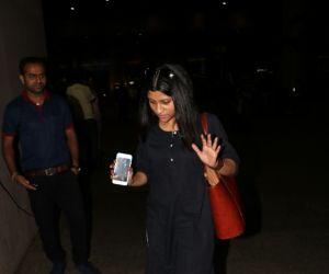 Konkona Sen Sharma Spotted At Airport