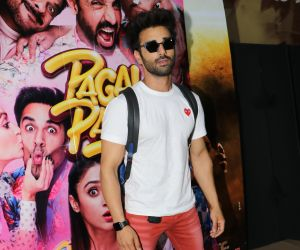 Actor Pulkit Samrat Hosted a Special Screening of their film Pagalpanti.