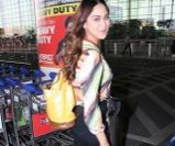 Krystle D'Souza spotted at airport departure
