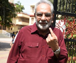 Kulbhushan Kharbanda spotted at mount mary