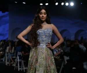 Actress Janhvi Kapoor at Lakm'e Fashion Week opening Event