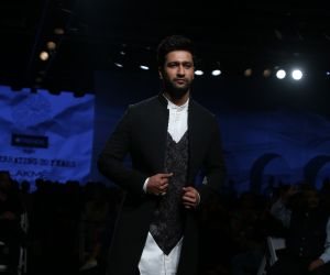 Actor Vicky Kaushal at Lakm'e Fashion Week opening Event