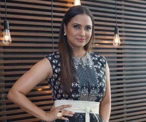 Lara Dutta At The Model Shoot Of Miss Diva