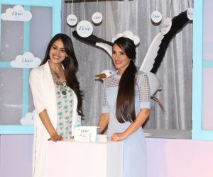 Launch Of Baby Dove In India With Genelia