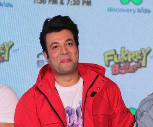 Launch Of 'Fukrey Boyzzz with Varun Sharma