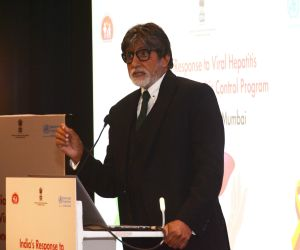 Launch Of National Action Plan On Combating Viral Hepatitis In India With Big B