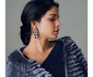 Lavanya Tripathi new photo in Hex colour Saree