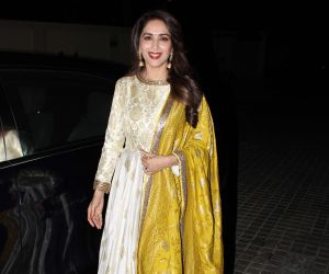 Madhuri Dixi spotted at pvr juhu
