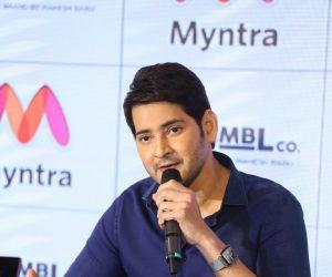 Actor Mahesh Babu Press Meet at Myntra