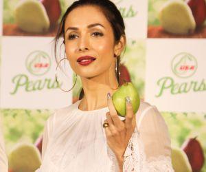 Actress Malaika Arora  the Promotion of US Pears at Fourseasons hotel in mumbai.