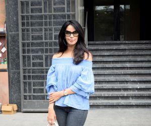Mallika Sherawat Spotted at Indigo Juhu