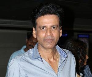 Manoj Bajpayee At Special Screening Of Saat Uchakey