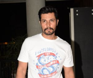 Manoj Bajpayee's birthday party at the club juhu