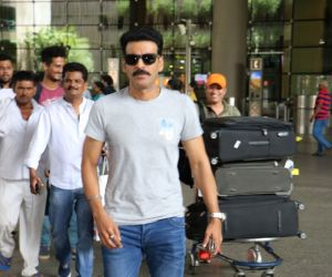 Manoj Bajpayee Spotted At Airport