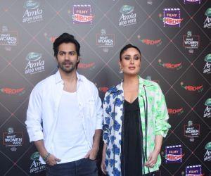 Varun Dhawan & Kareena Kapoor At Mehboob Studio In Bandra