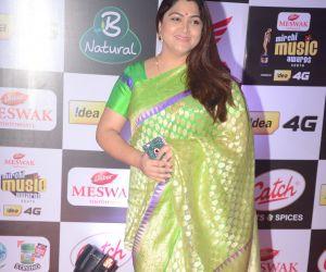 Kushboo @ Mirchi Music Awards 2016