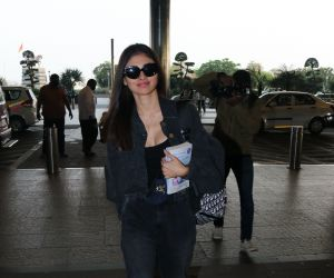 Mouni Roy Spotted At Airport Departure