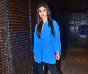 Mouni Roy spotted at Estrella juhu