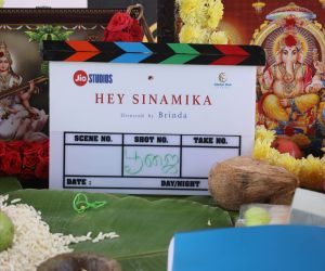 Hey Sinamika movie event photo