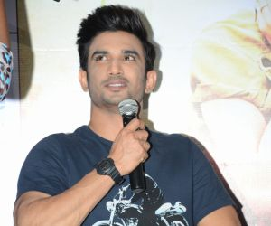 Sushant Singh Rajput attend Bollywood movie Raabta promotion