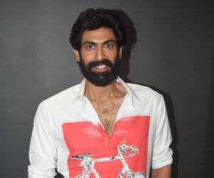 Rana Daggubati join Haathi Mere Saathi Movie Promotion At Eros Office in Andheri