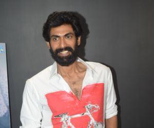 Rana join Haathi Mere Saathi Movie Promotion At Eros Office in Andheri