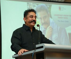 Mr.Kamal Haasan at Chennai International Centre Event