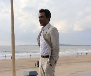 Nawazuddin Siddiqui at Sun n sand hotel For Promotion of Film Motichoor Chaknachoor