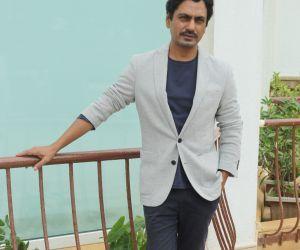Nawazuddin Siddiqui Spotted At Sun N Sand For The Movie Motichoor Chaknachoor