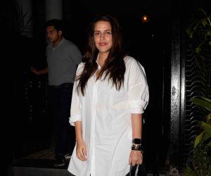 Neha Dhupia spotted at Soho House juhu - photos
