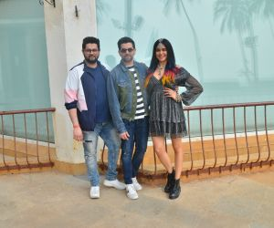 Neil Nitin Mukesh and Adah Sharma at the promotions of film Bypass Road at Sun n Sand in juhu