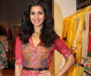Nimrat Kaur Launch Ritu Kumar's Winter Festive
