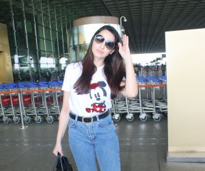 Nora Fatehi Spotted At Airport Departure