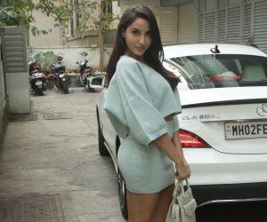 Nora Fatehi Spotted At Bandra