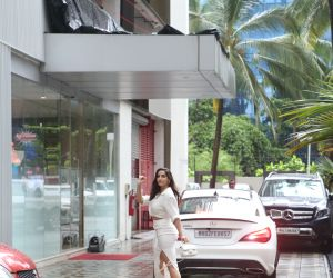 Nora fatehi spotted at T series Andheri