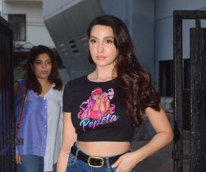 Nora Fatehi Spotted In Andheri