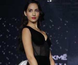 Nora Fatehi walks for Lakme cute Fashion Week summer resort 2020