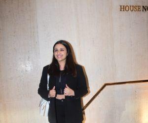 Parineeti Chopra Spotted At ManishMalhotra's House in Bandra