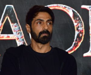 Poster Launch Of Film The Battle of Bhima Koregaon with Arjun Rampal