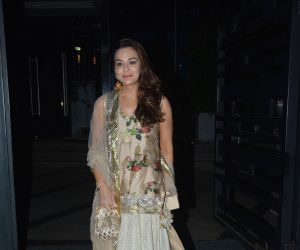 Preity Zinta spotted at Yautcha