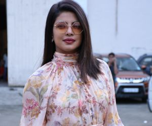 Priyanka Chopra at the promotions of film The Sky is Pink at Mehboob Studio in bandra