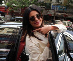 Priyanka Chopra Casts Her Vote