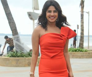 Priyanka Chopra Spotted Promoting their Film The Sky Is Pink