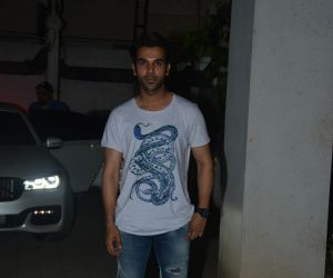 Rajkummar Rao spotted at macdock office in bandra