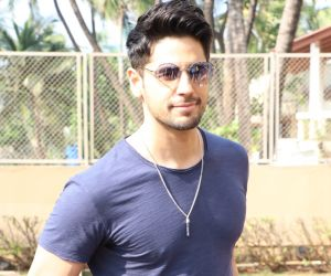 Fitness freak Sidharth Malhotra has a strong appetite for workouts