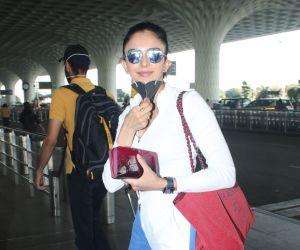 Rakul Preet Singh Spotted At Airport Departure