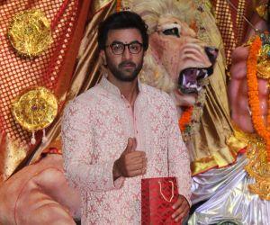 Ranbir Kapoor At Durga Puja Pandal