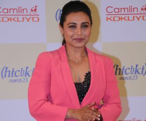 Rani Mukerji At Hichki Teachers Awards